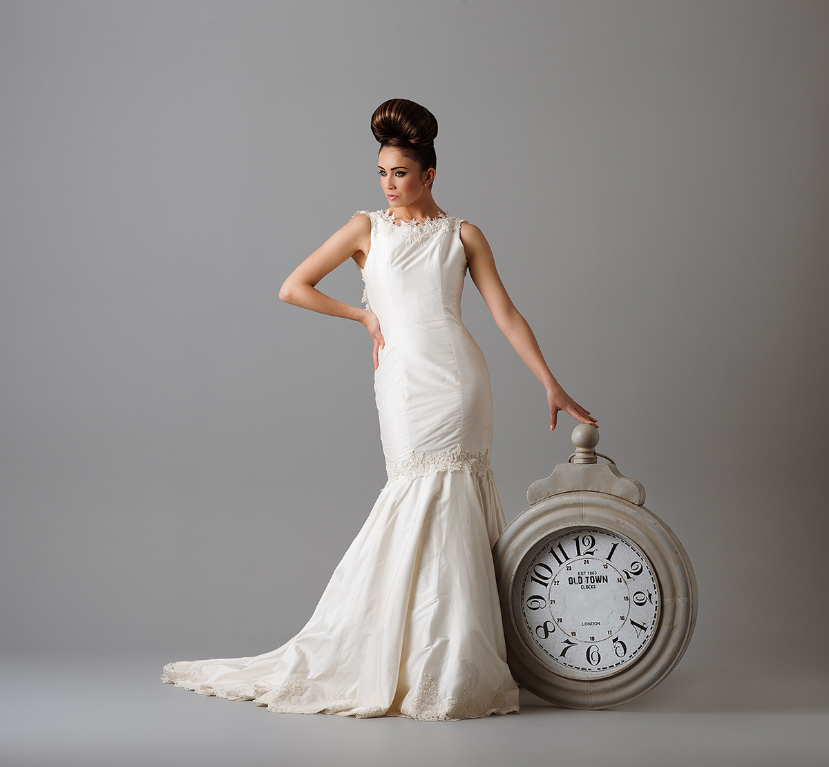 Couture Wedding Dress photoshoot for Timeless Couture by Karl Bratby Nottingham Commercial Photographer