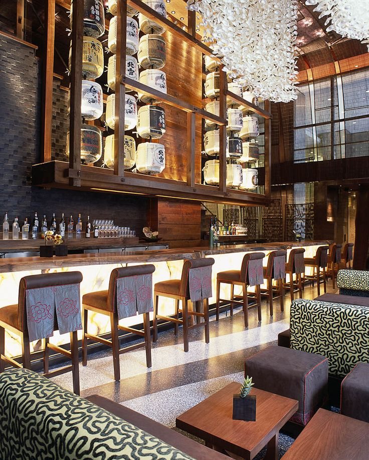 Nobu  NYC. Image via  here    40 West 57th Street in Mid Town. 1.212.757.3000 for reservations.