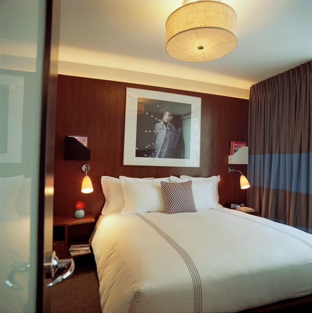 The comfy beds at 6 Columbus. Image via  here