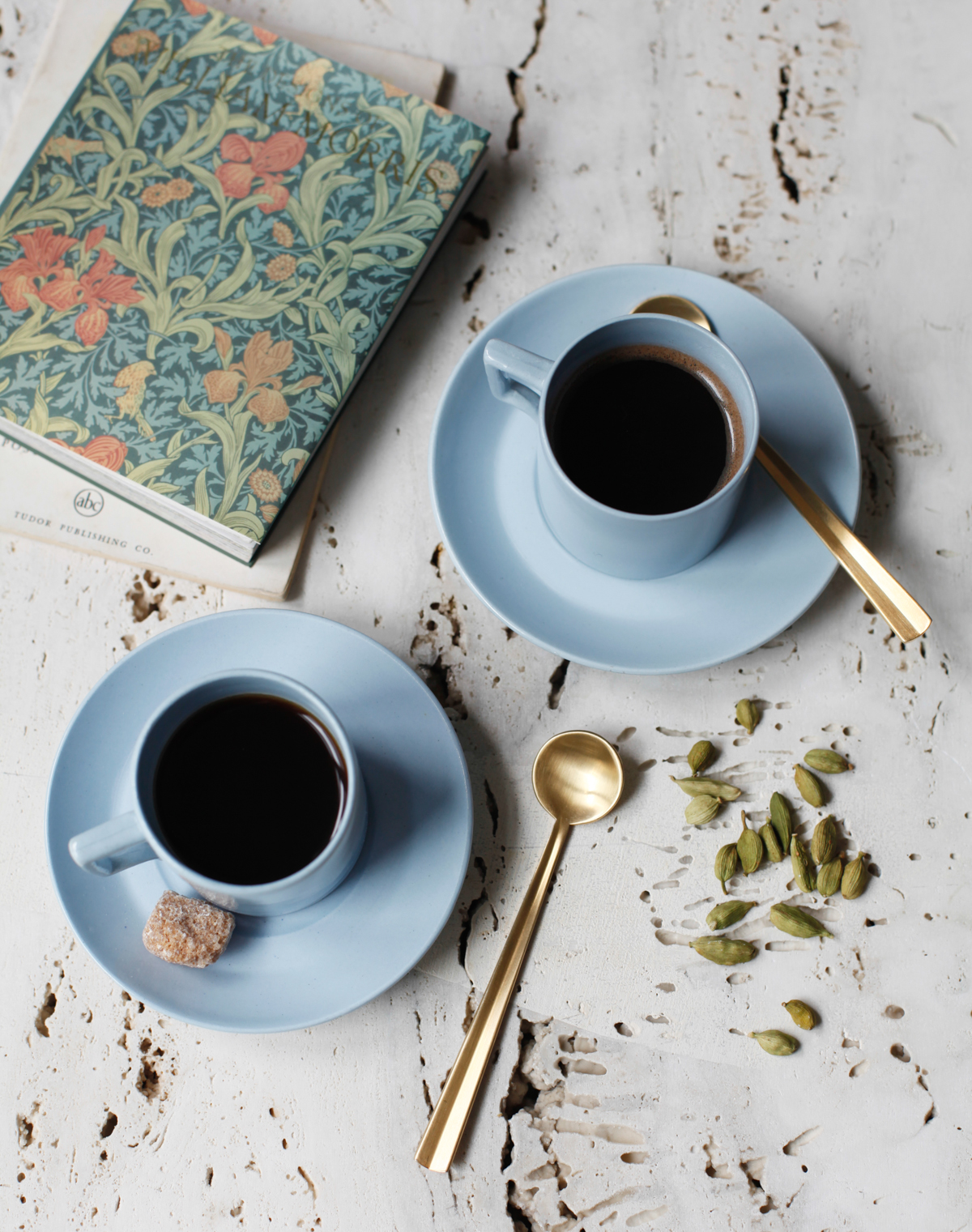 For the cardamom coffee recipe click  here.    Recipe, Photograph & Styling by  Diana Yen & The Jewels of New York