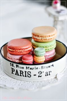 The ultimate delight. The Macaron.