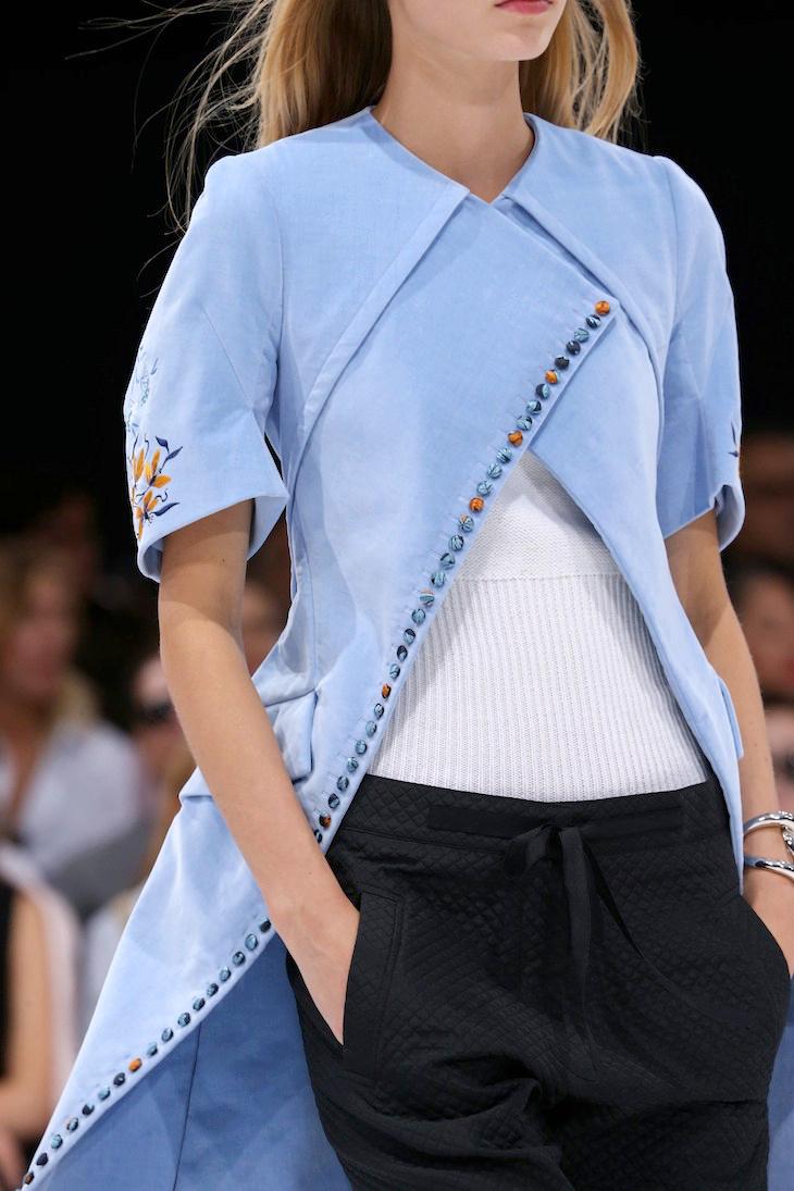 Image via  Dustjacket Attic.    Dior Spring Summer 2015.