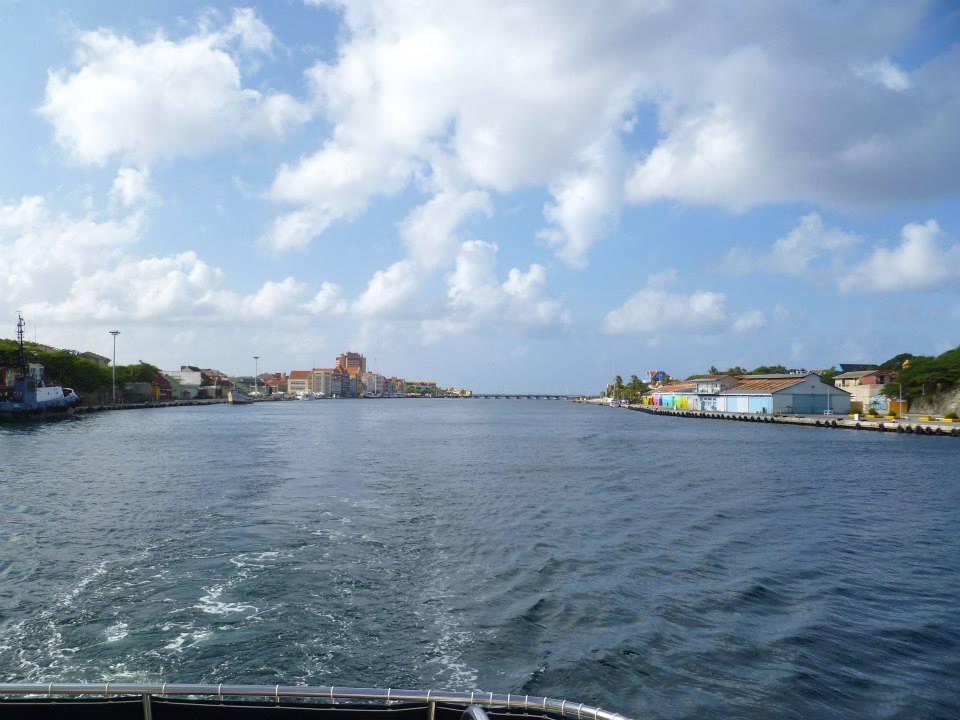 Curacao's  harbor.