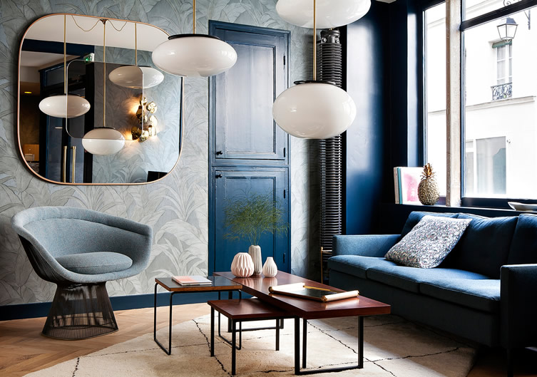 Hotel Henriette in Paris. Image via  here.