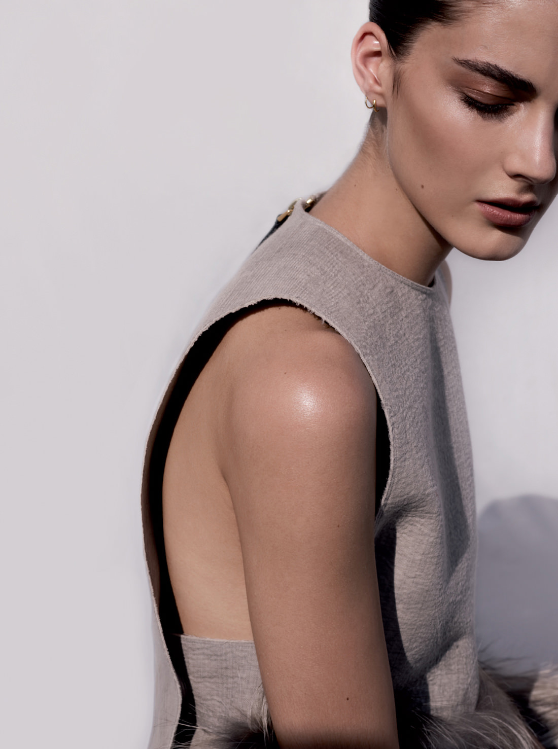 Katryn Kruger by Matthew Sprout for Russh. Image via  Visual Optimism .