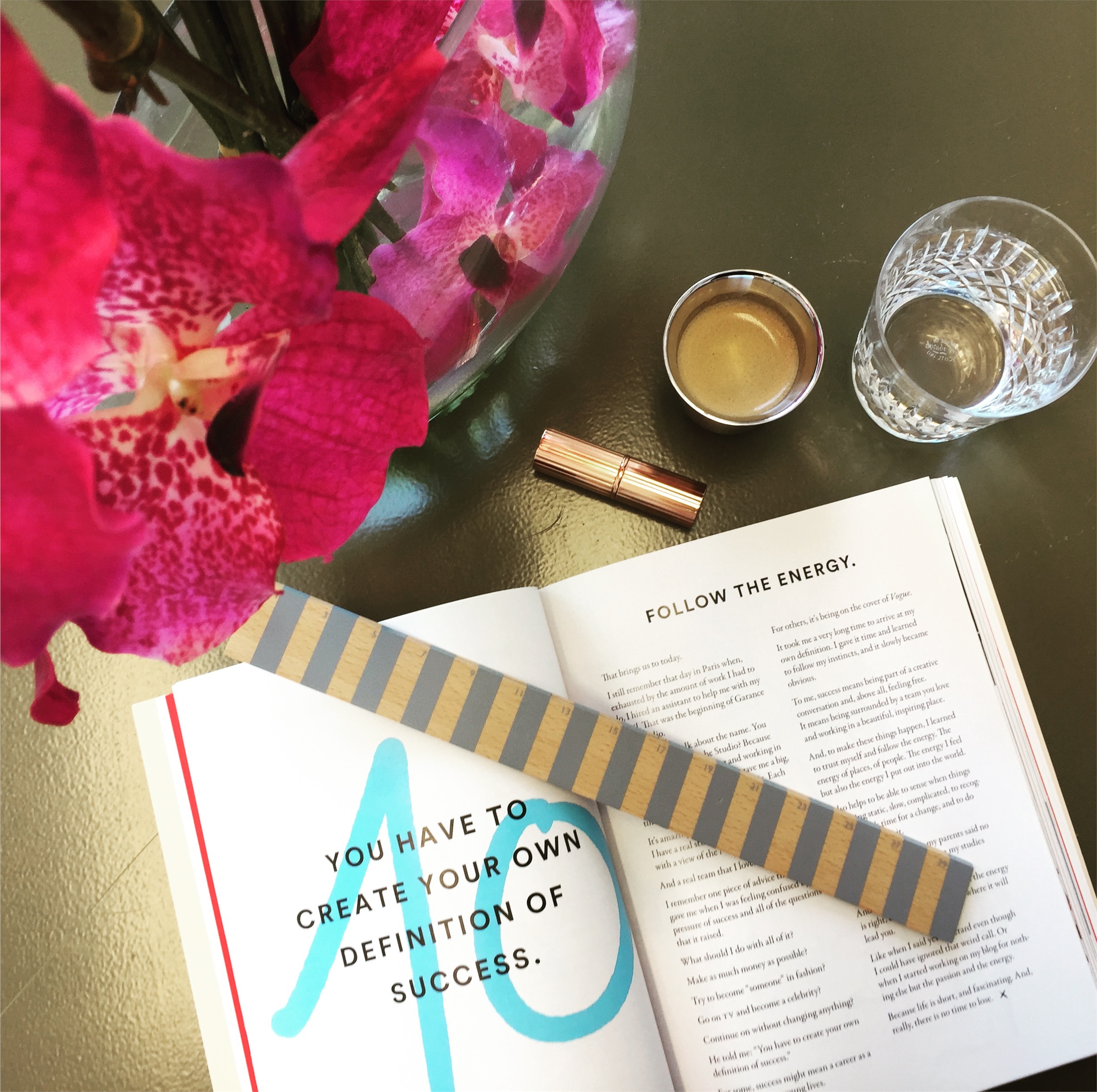 Image from my own collection. Book by Garance Dore.