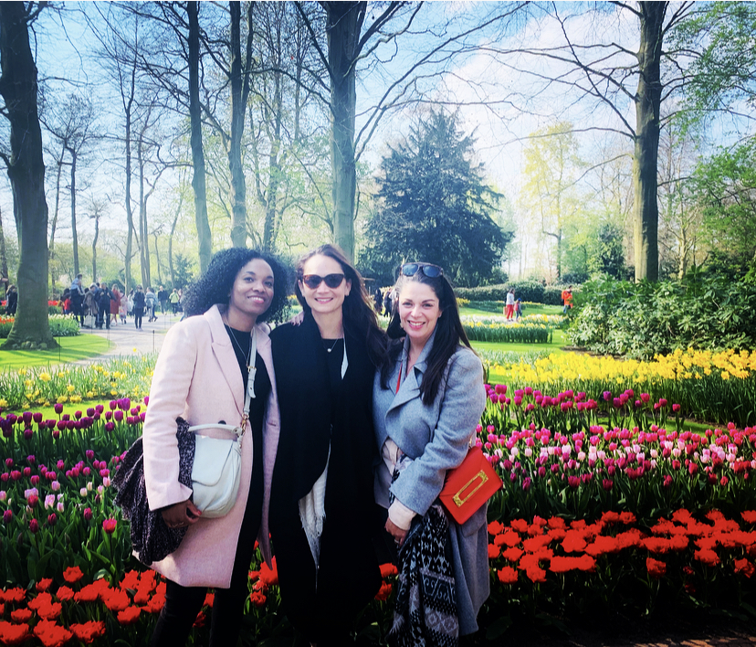 Photo from my own collection. Keukenhof. April 2019. 18 years of friendship.