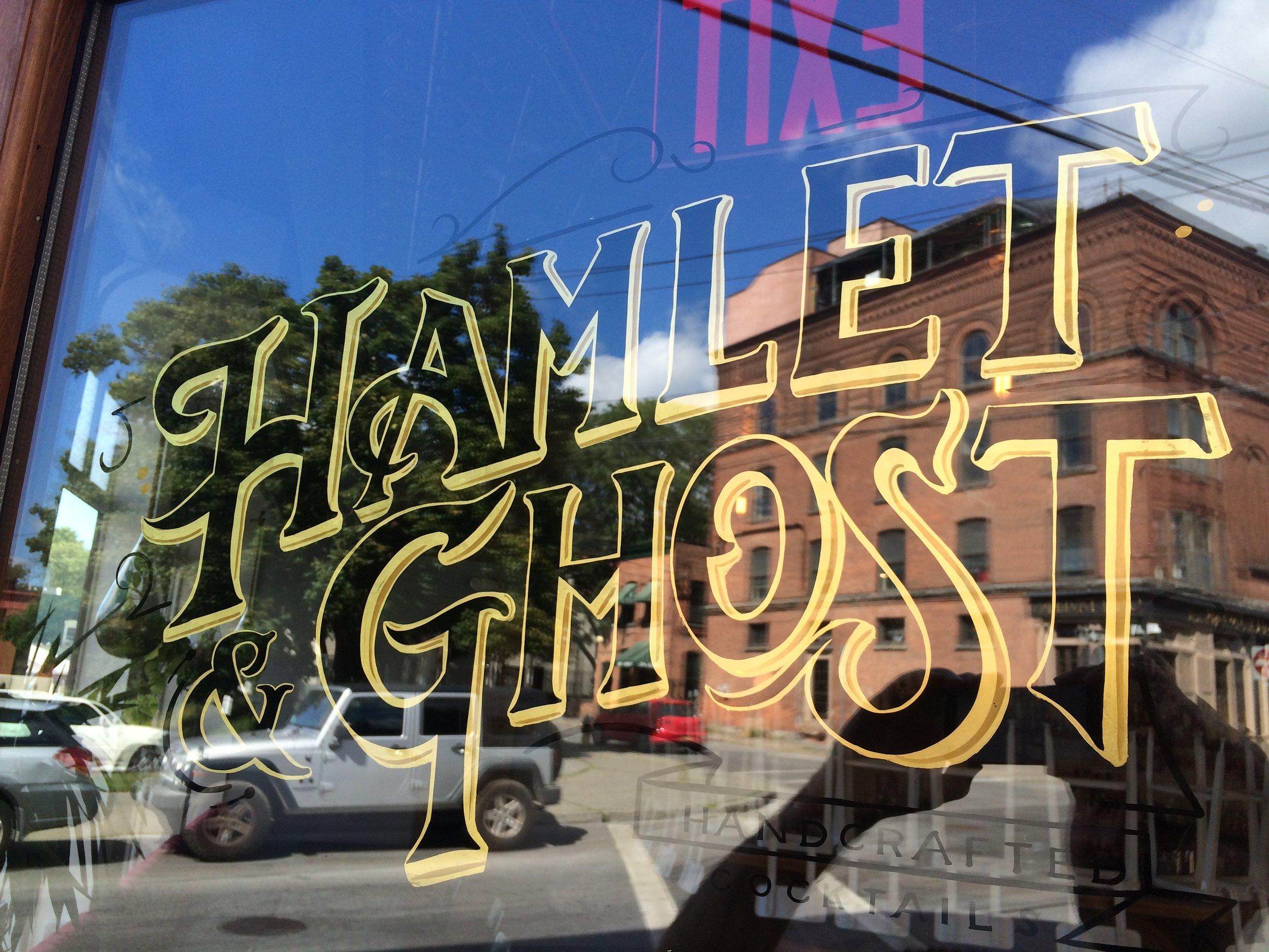 Hamlet & Ghost gold leaf