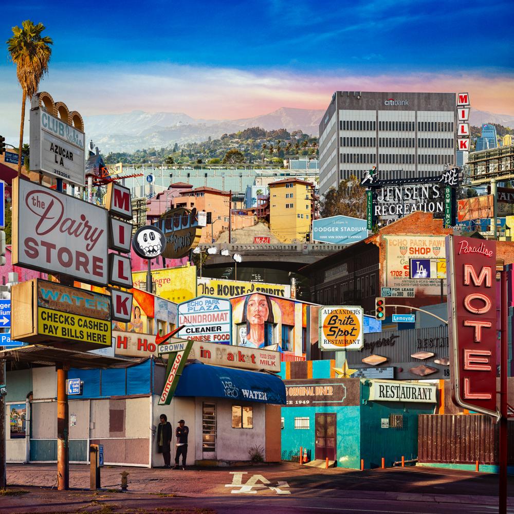 """""""Echo Park"""" Los Angeles, CA"""