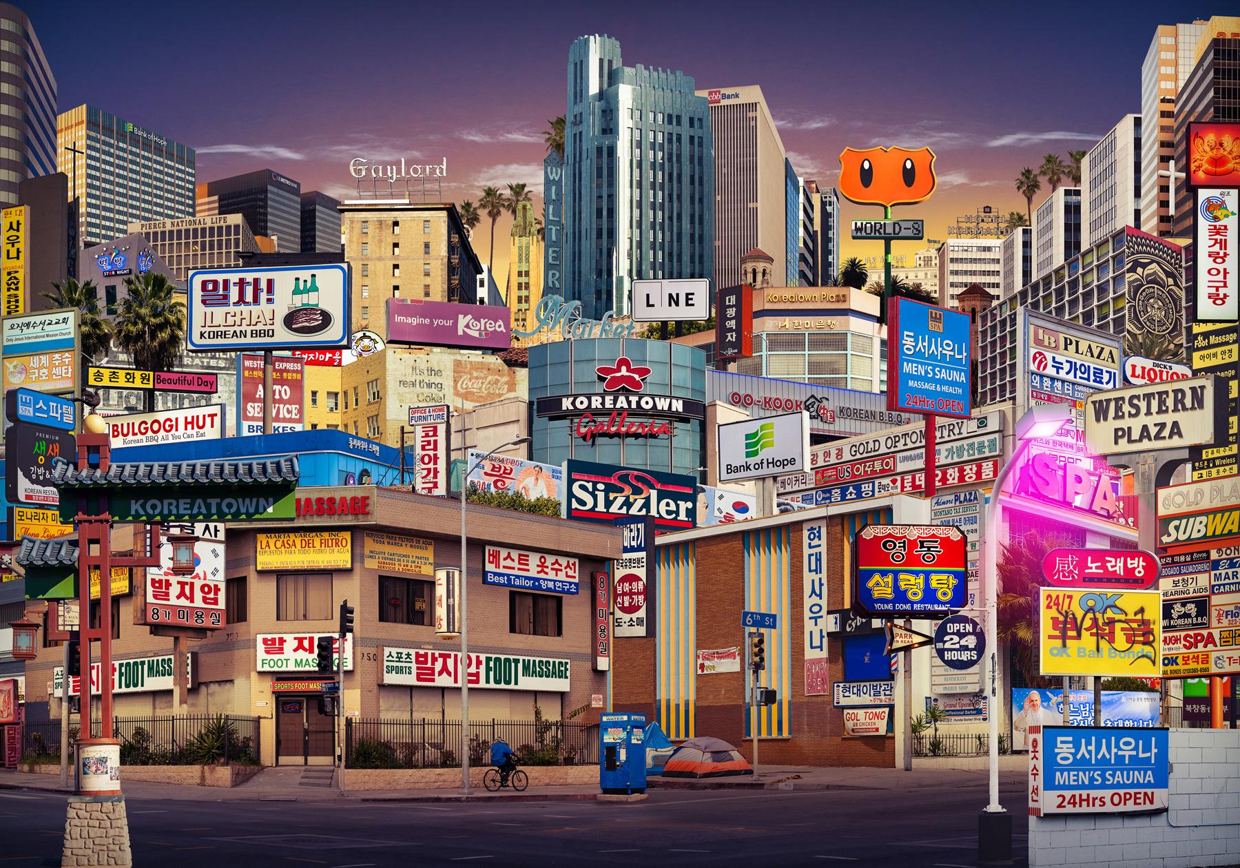 """""""Koreatown"""" Los Angeles, CA"""