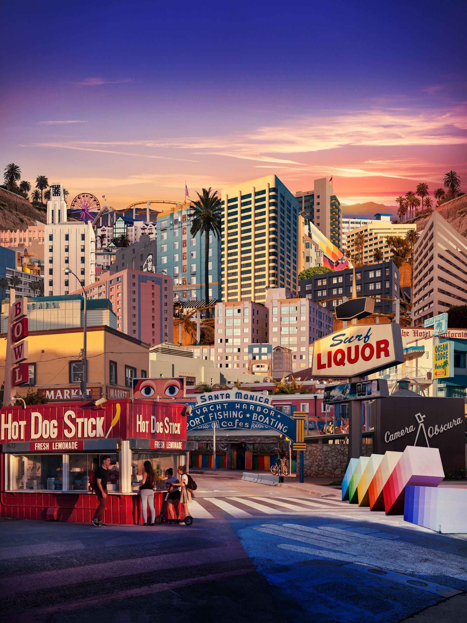 """""""Santa Monica"""" Los Angeles, CA"""