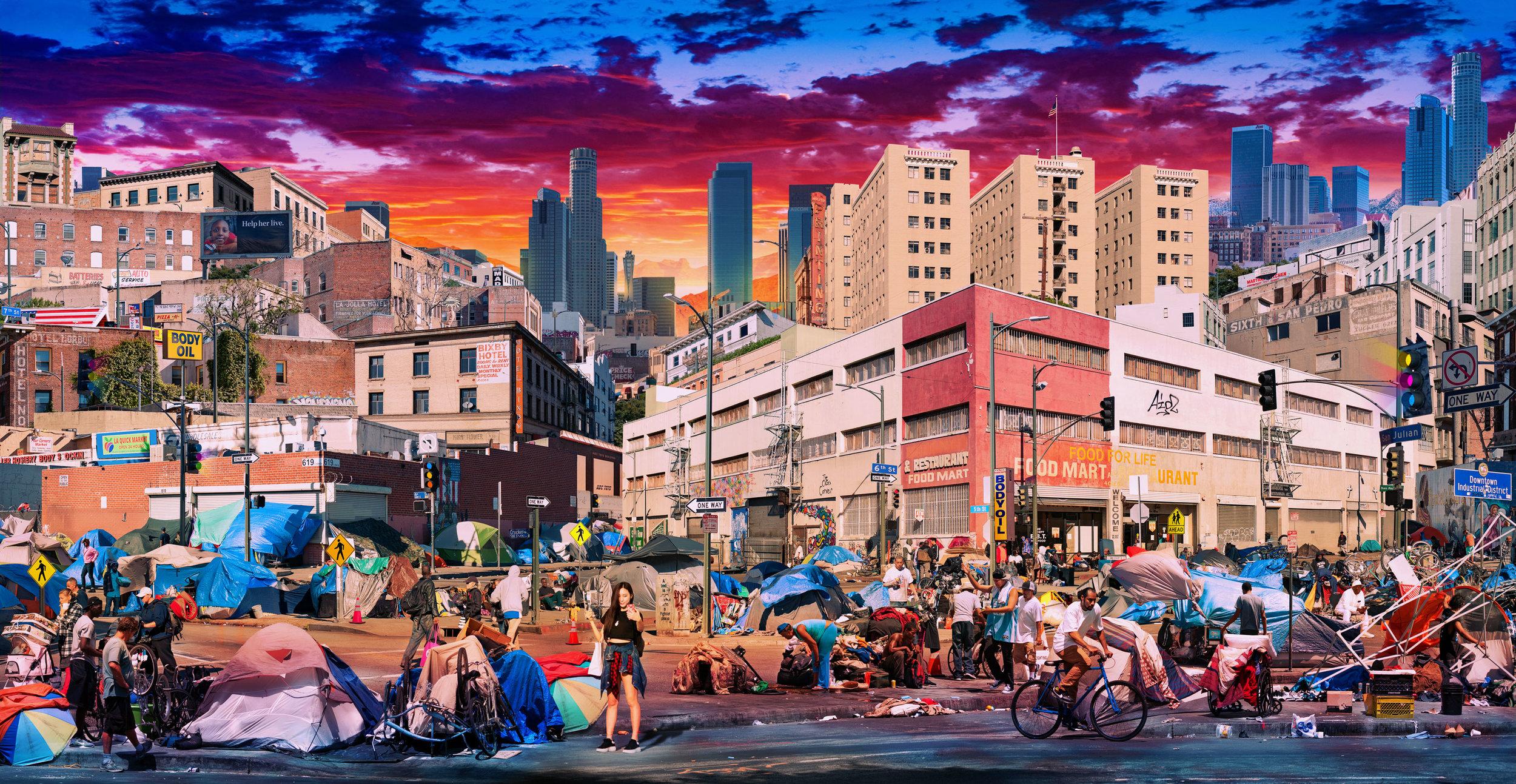 """Skid Row"" Los Angeles, CA"