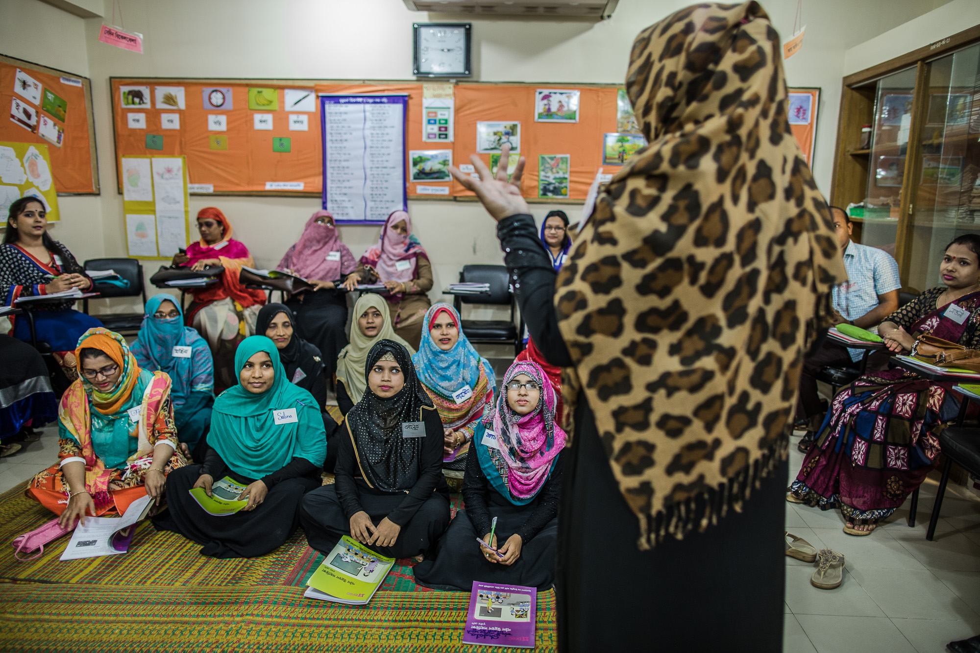 COX'S BAZAR, BANGLADESH: October 26, 2016 - Teacher training by the USAID funded READ project helps teachers measure reading skill in the early grades. It also provides strategies for teachers to help struggling students. Photo by Morgana Wingard