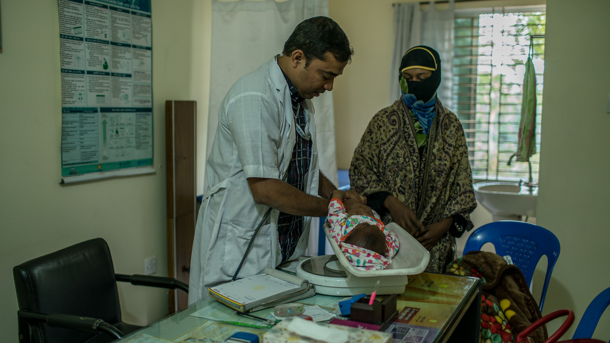 Smiling Sun Clinic in Chittagong, Bangladesh
