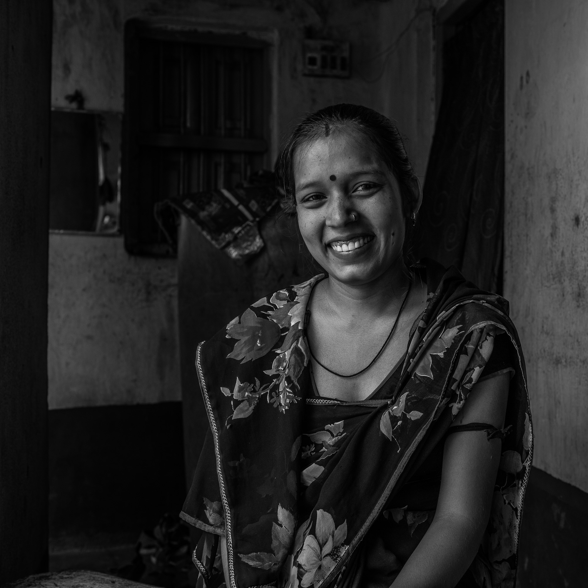 PATNA, BIHAR, INDIA: April 17, 2017 - Bihar is one of India's largest and poorest states with over 100 million people. Poor nutrition and poor health, particularly for women and children, lead to early deaths and generational cycles of lost potential. The state has one of the country's highest rates of maternal, neonatal and infant mortality. Underlying factors that contribute to these negative health outcomes primarily include extreme poverty, gender and social inequality among many others. Recognizing these persistent gaps, the Integrated Family Health Initiative (IFHI) project was launched in 2011 to address these disparities with support from the Bill and Melinda Gates Foundation. IFHI's objective is to support the Government of Bihar in increasing the universal coverage and quality of life‐saving interventions and improve the health and survival of women, newborns and children during the first 1,000 days ‐ from conception to the child's second birthday. To reach this objective, IFHI implements a set of core, proven interventions, spanning the family health continuum of services, including maternal and newborn health, nutrition, immunization and family planning. Photo/Footage by Morgana Wingard for CARE