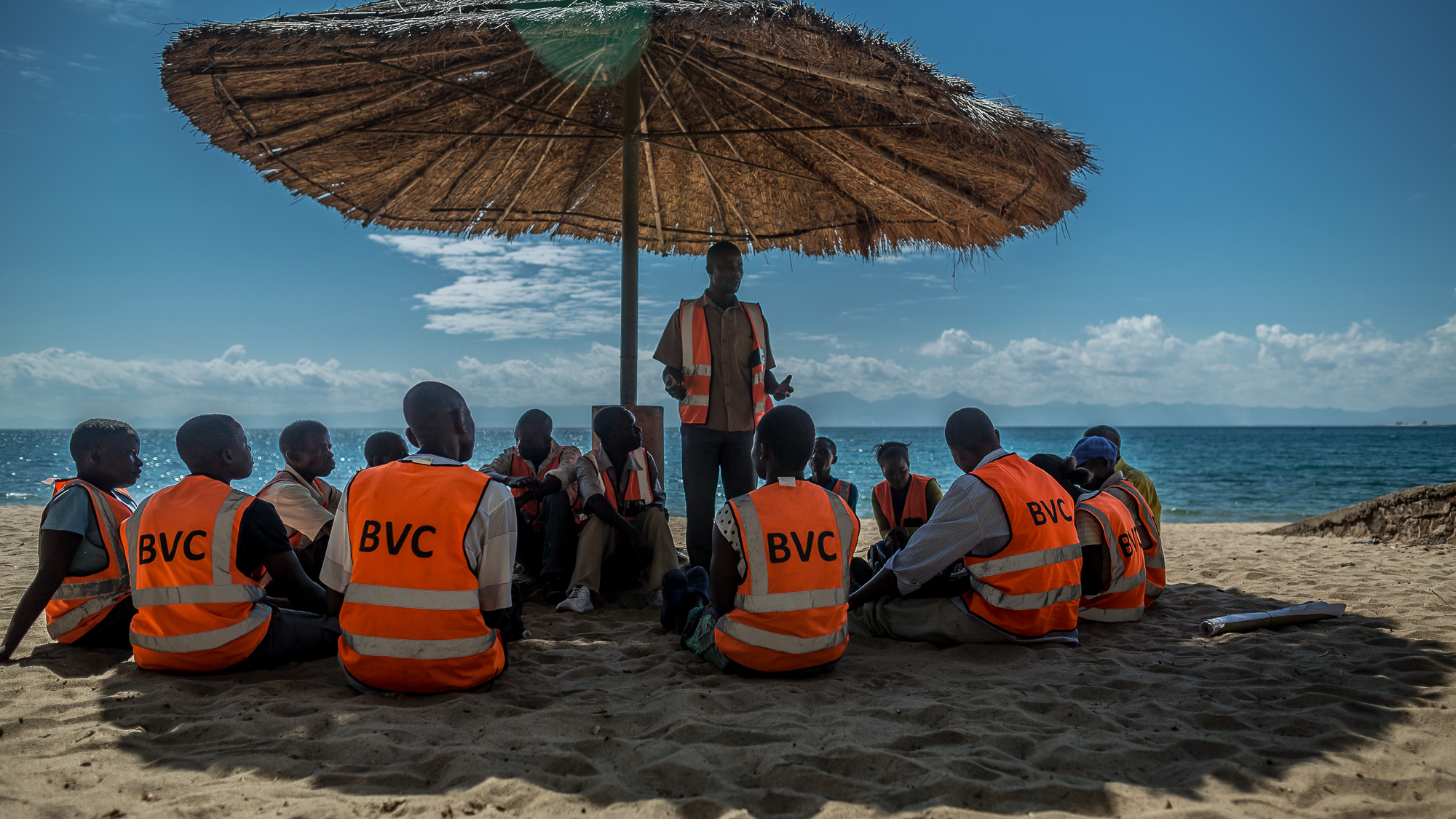 BVC members come together every week to have a meeting and discu