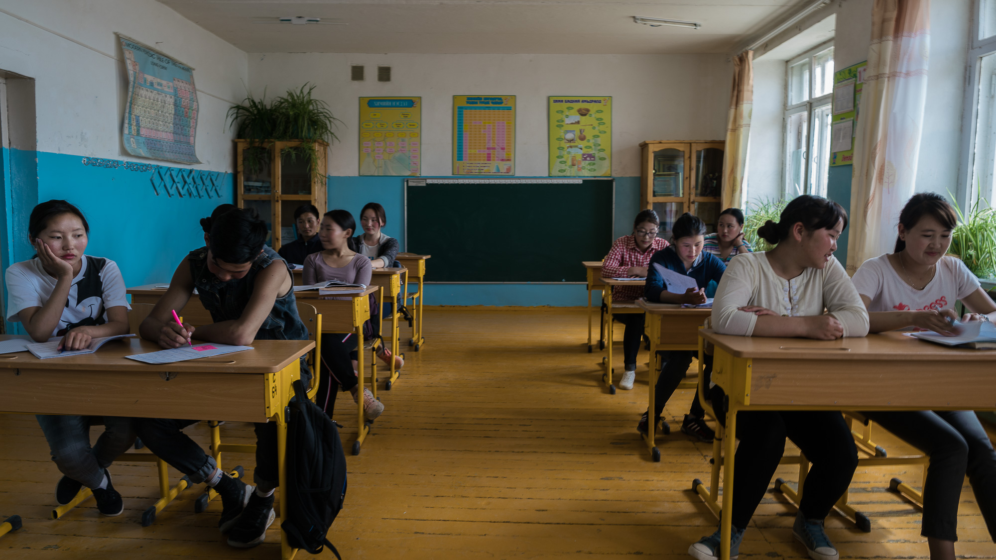 Myngad Soum School in Khovd Province in Western Mongolia