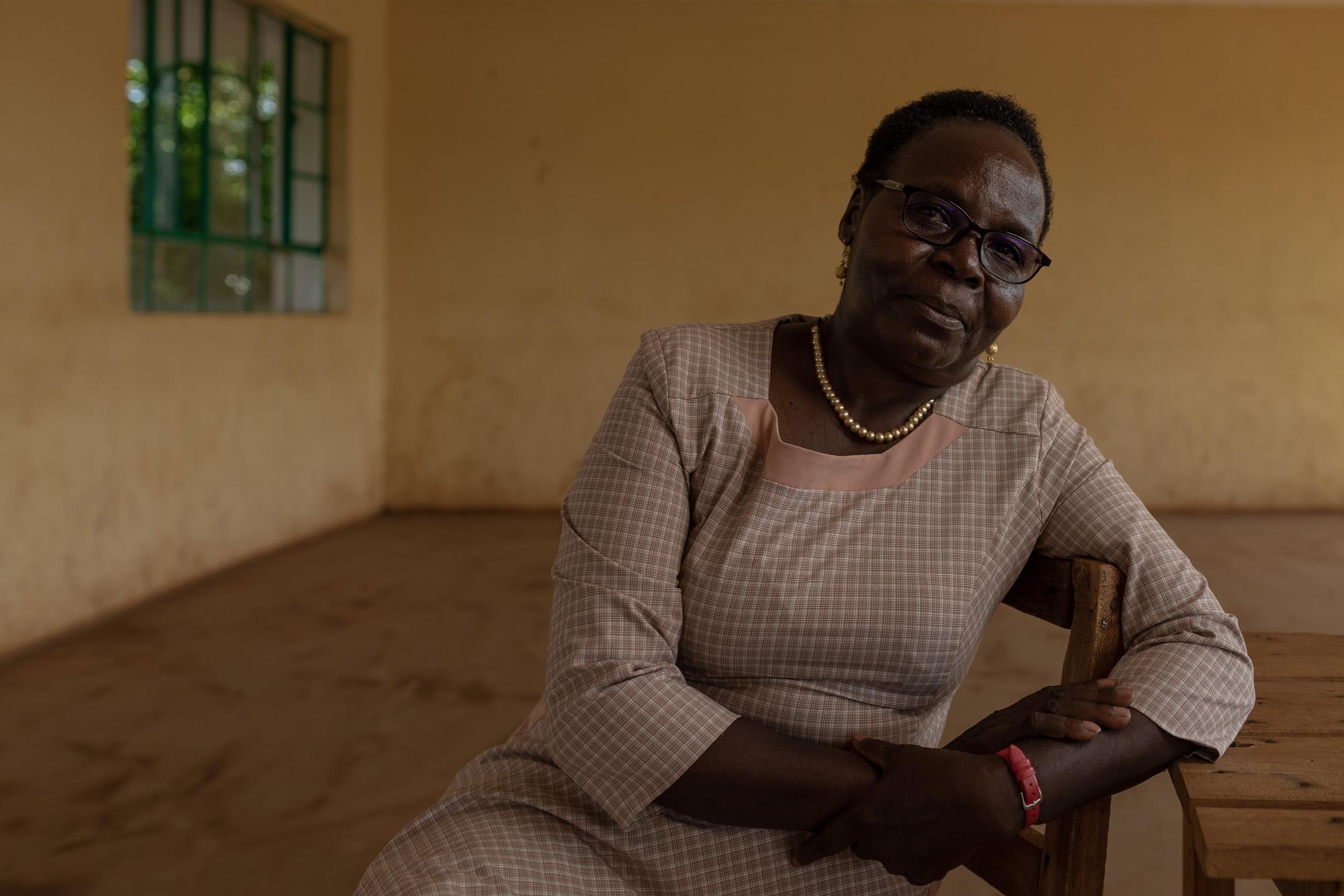 Aniceta Kiriga, 60, started the Alternative Rite of Passage Cere