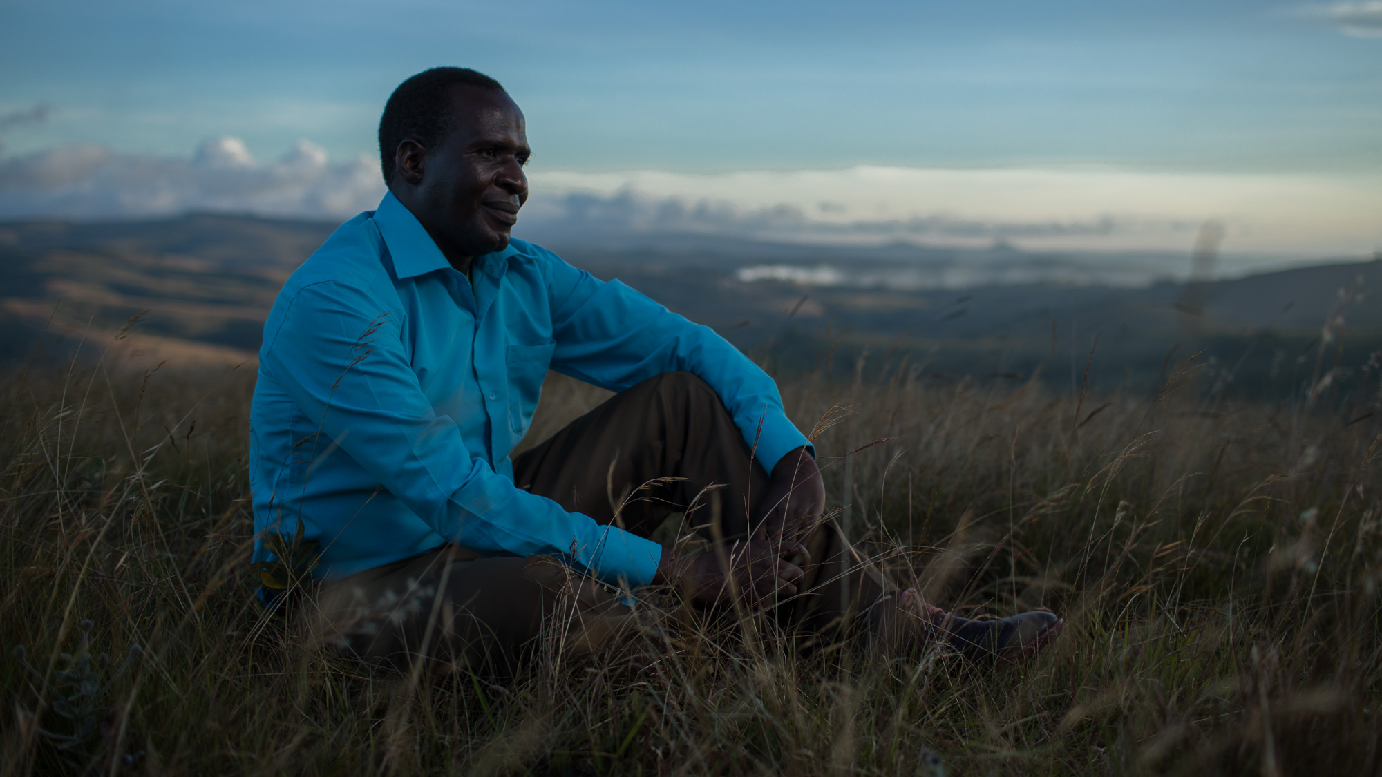 Nebson Chiloko, Managing Director of Kawandama Hills Plantation