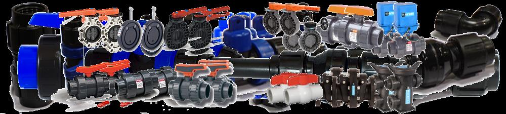 PLASTIC VALVES FOR PLUMBING, WATERWORKS, IRRIGATION & INDUSTRIAL APPLICATIONS