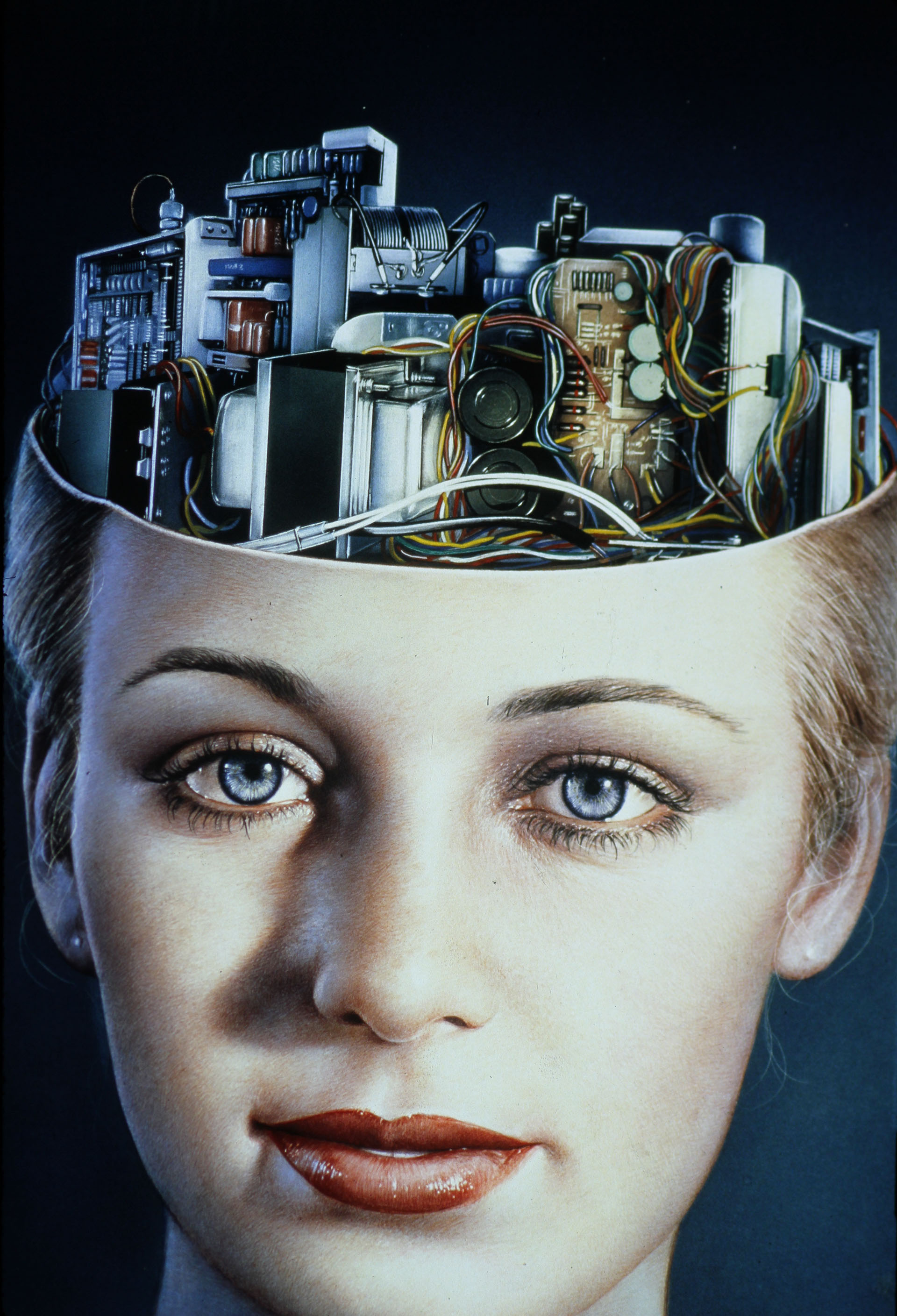 Robot Evolution , November 1981  Gottfried Helnwein