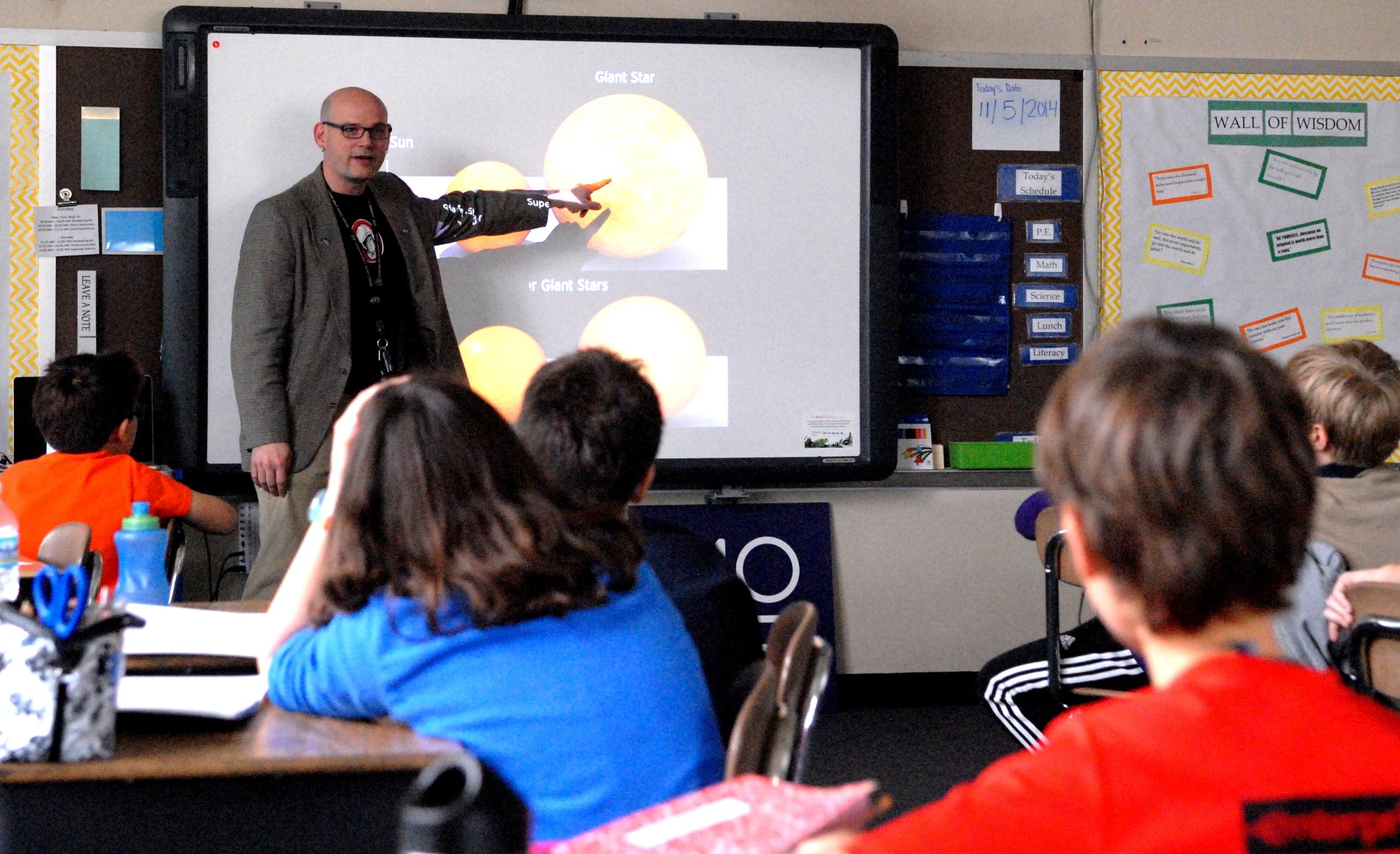 C. Alex Young, PhD of NASA Goddard teaches solar physics