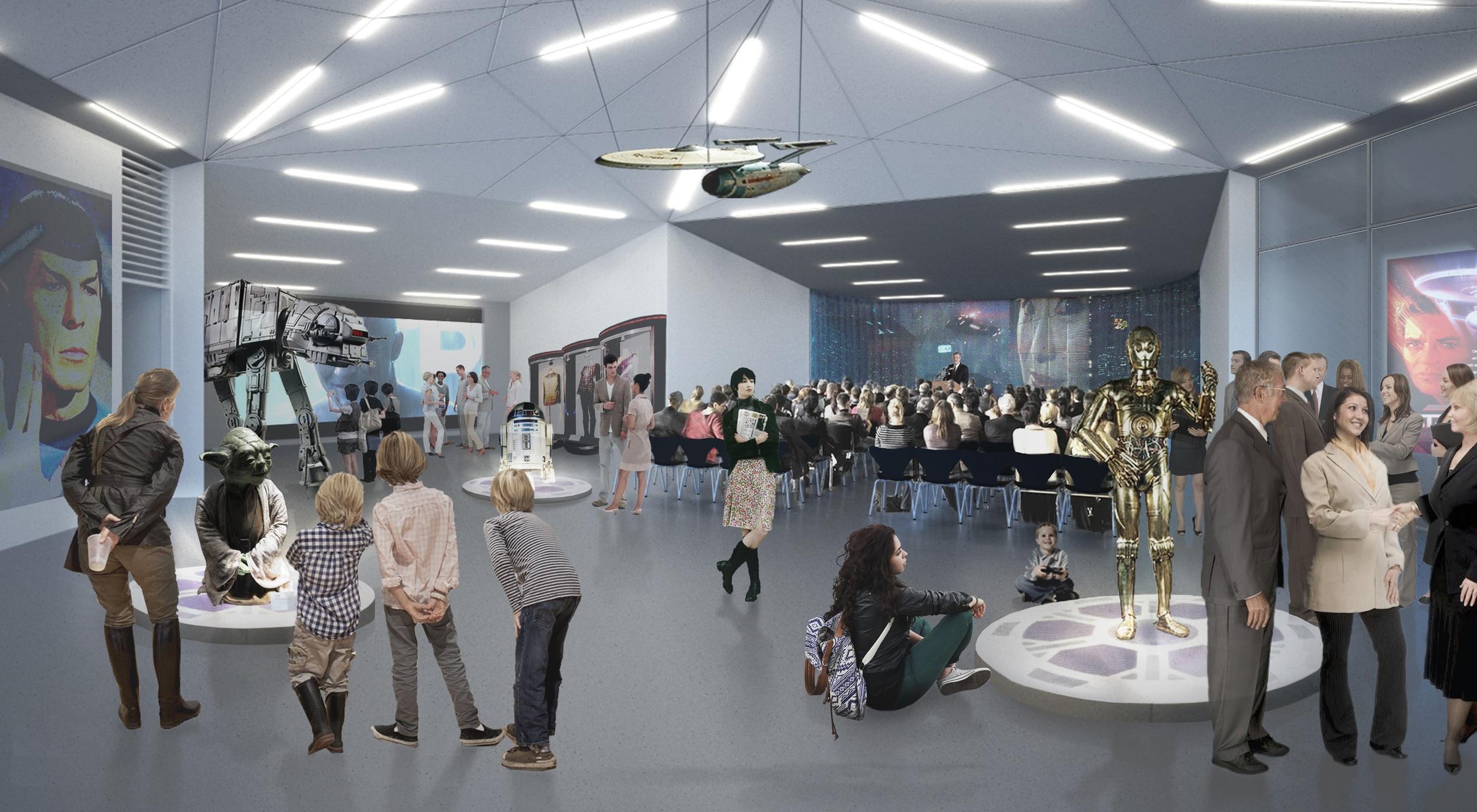 Interior design by David Garcia - MAP Architects, Denmark