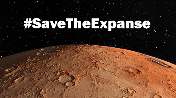 Thank you for signing the Museum's petition to save The Expanse - please share this campaign with your friends and family.