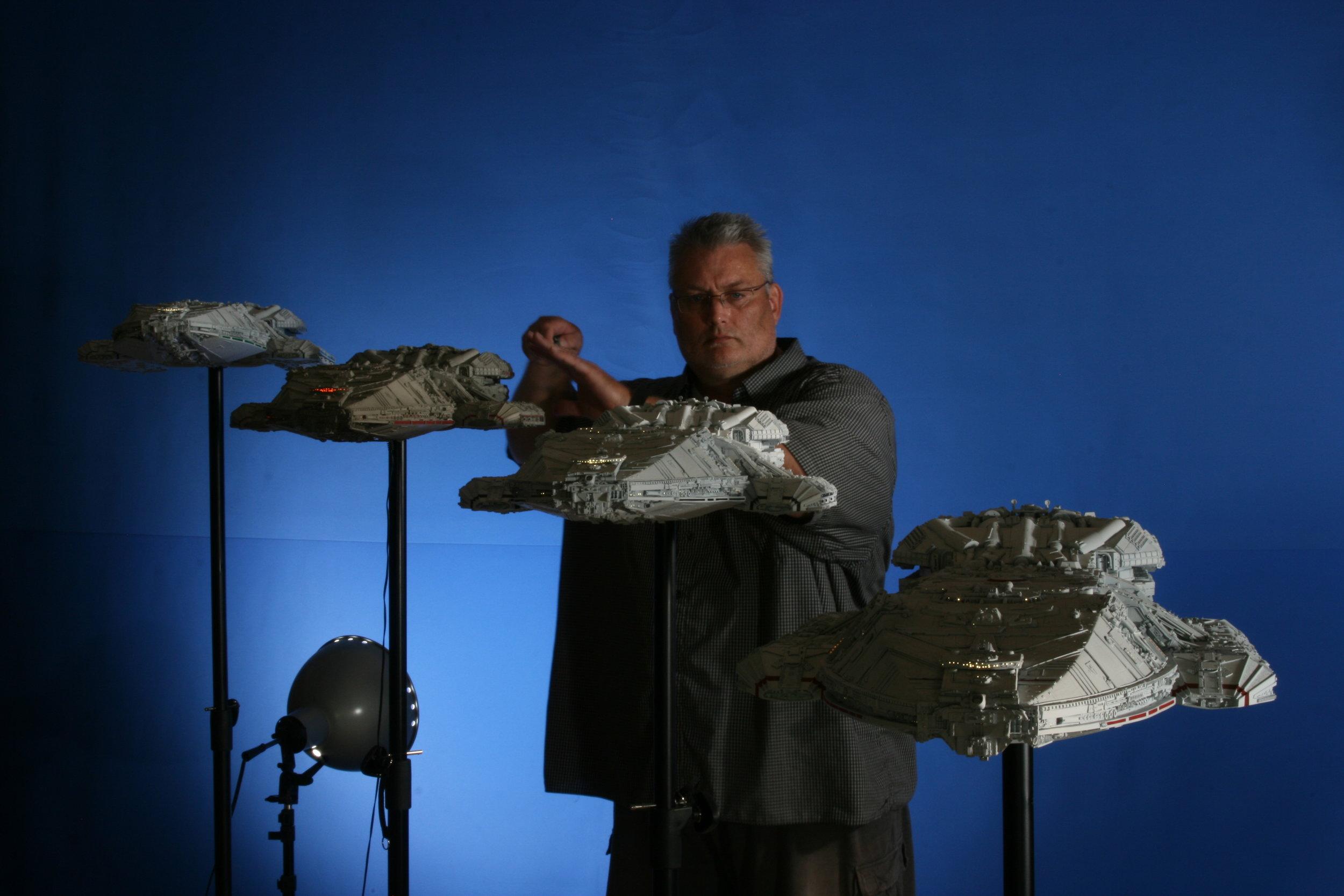 Kurt Kuhn with Battlestar task force group