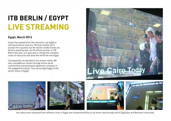 Egyptian Tourism Board (Dubai Lynx Awards board)