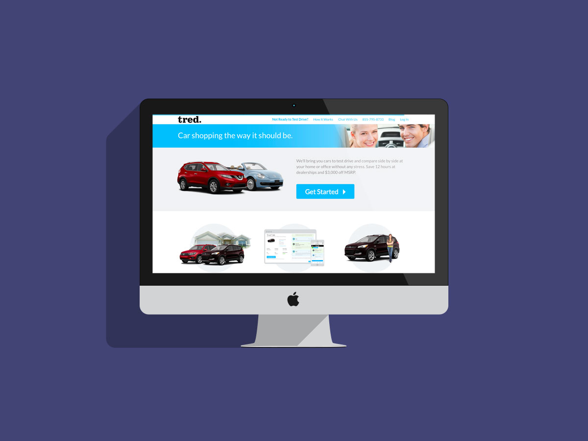 Tred.com brings the car to you