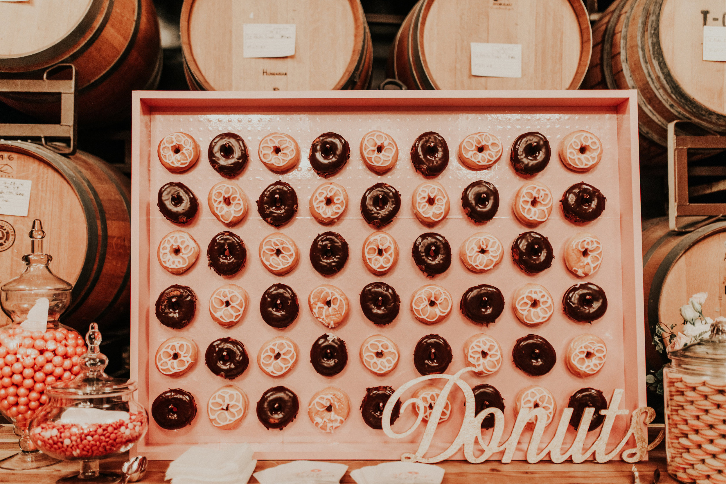 Lyons Events Donut Wall
