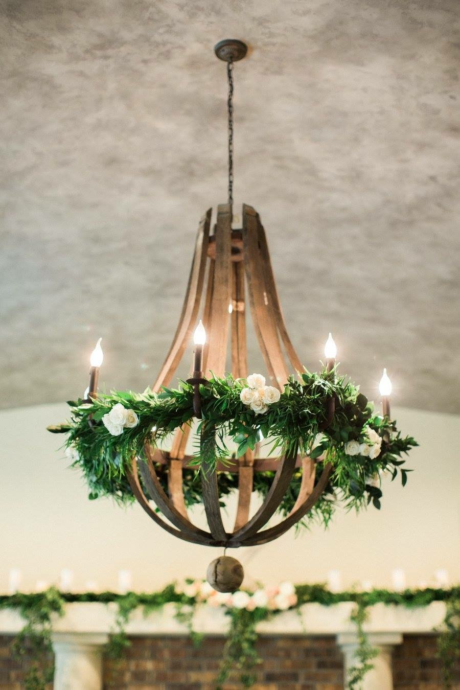 Lyons Events Floral Chandelier
