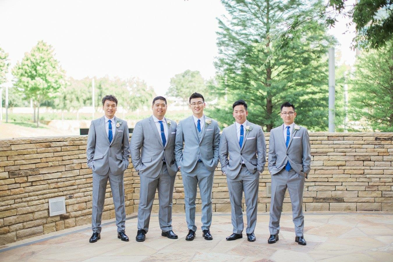 Lyons Events Groomsmen
