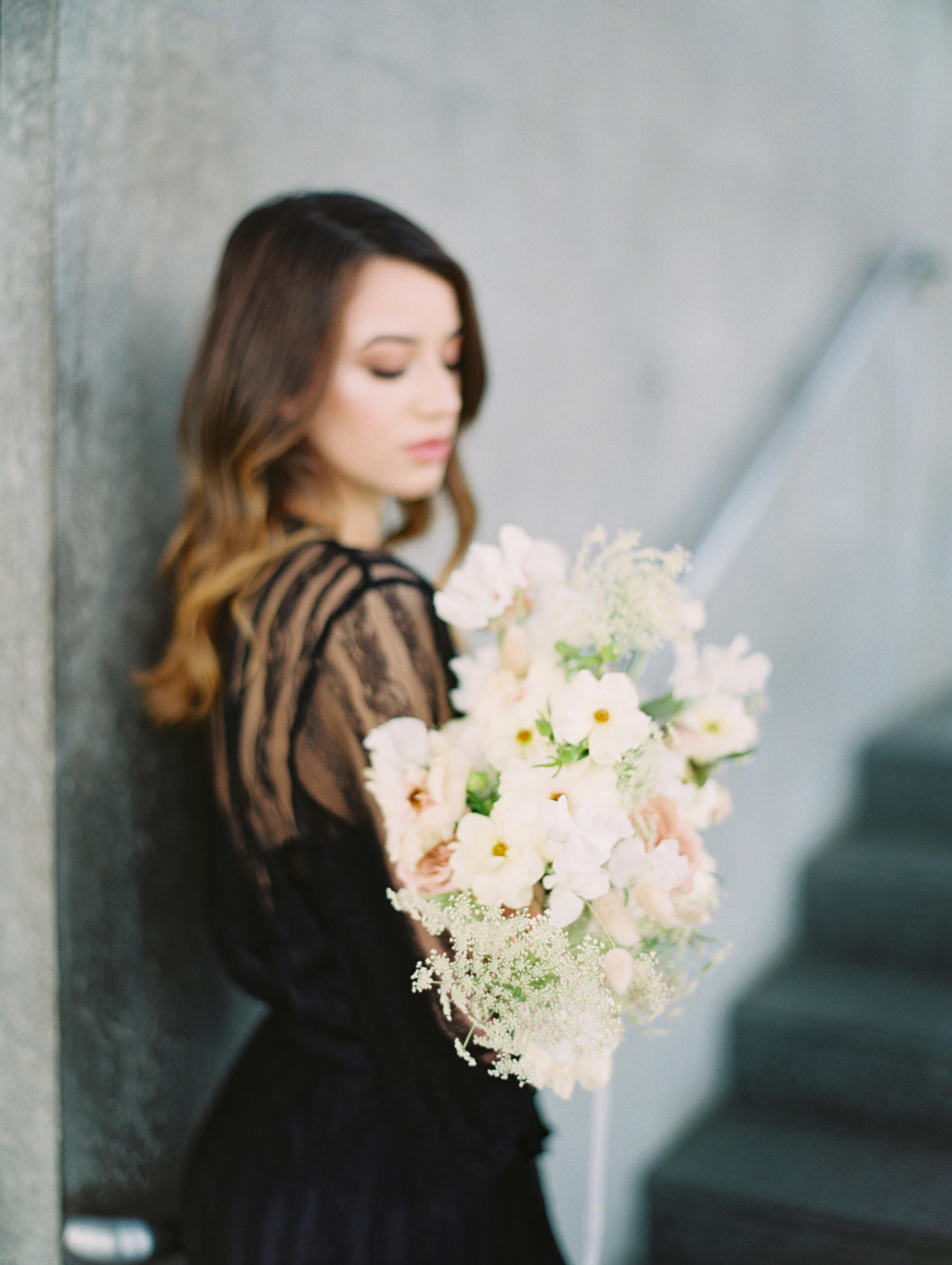 Lyons Events Abelia White Wedding Bouquet