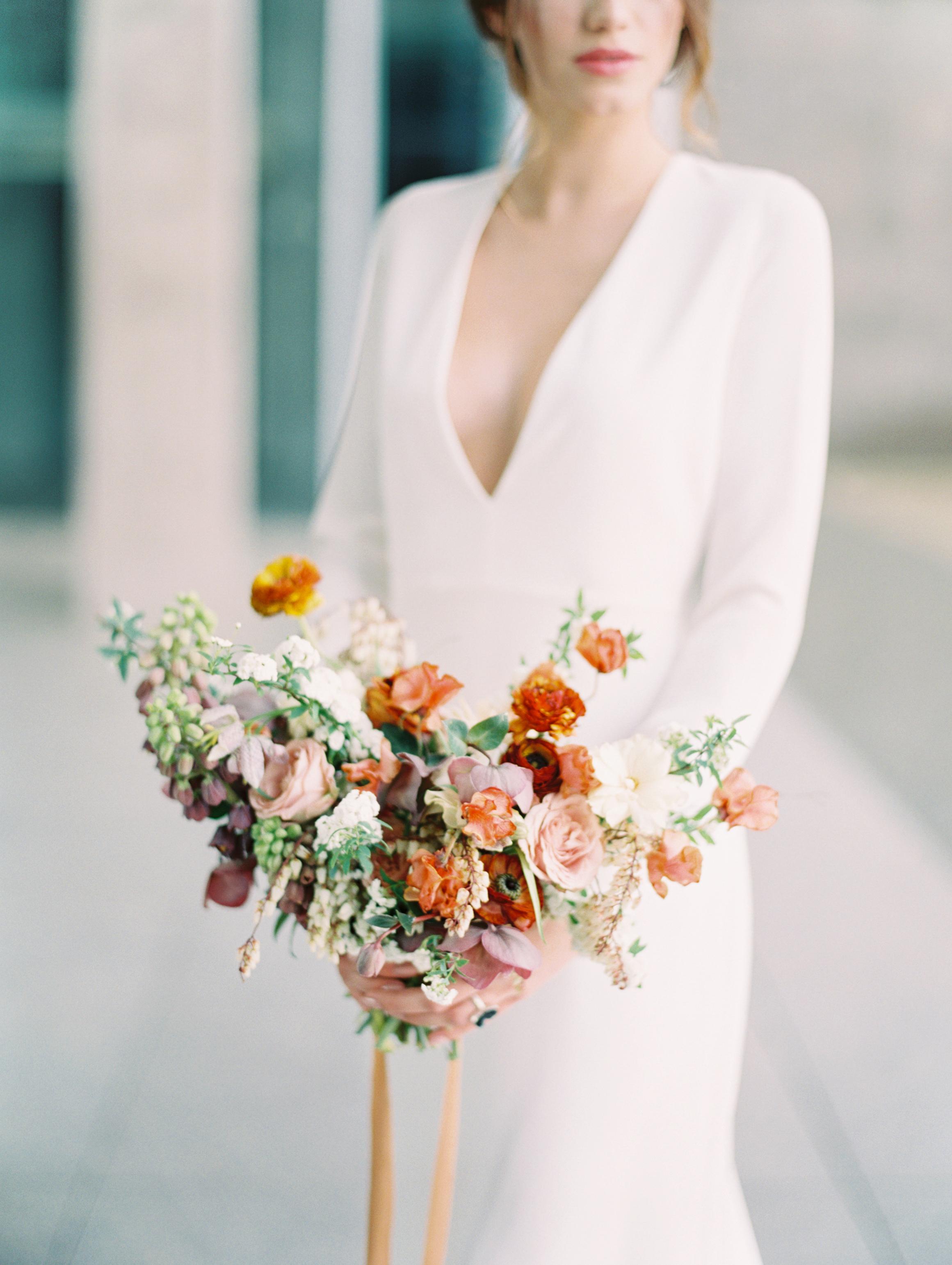 Lyons Events Colorful Wedding Bouquet Abelia Floral