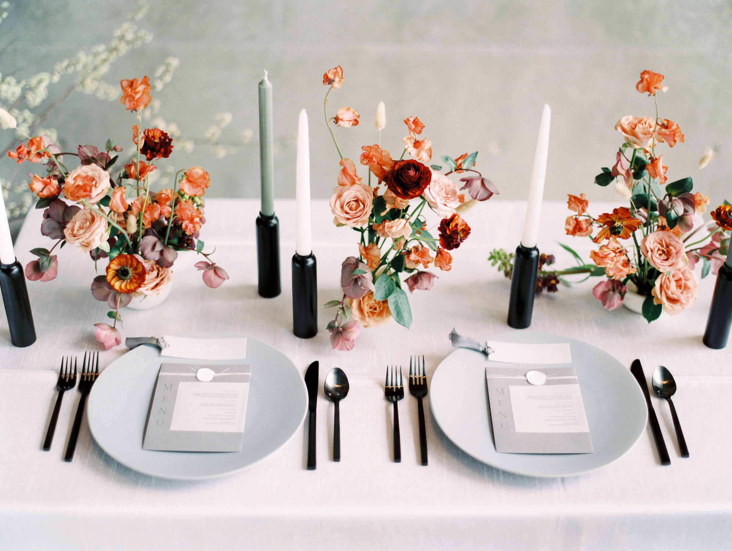 Lyons Events Minimalist Tablescape