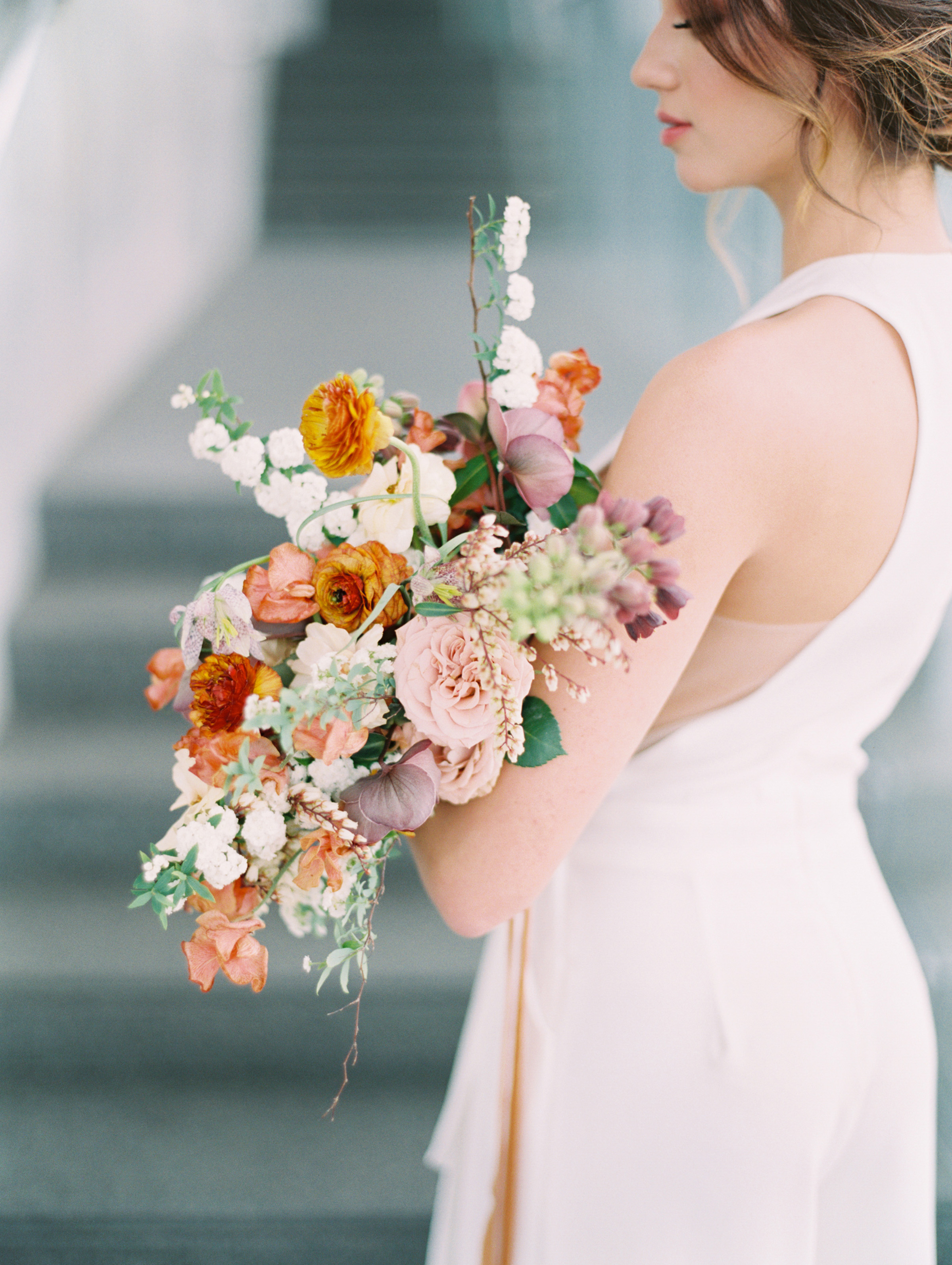 Lyons Events Colorful Wedding Bouquet