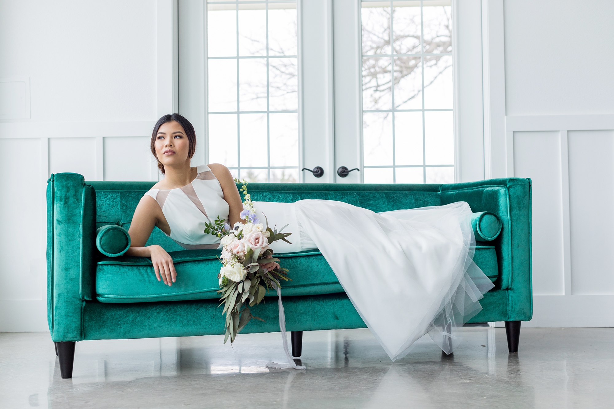 High Fashion + Glam - Featured on Southern Wedding Pros + The Perfect Palette.