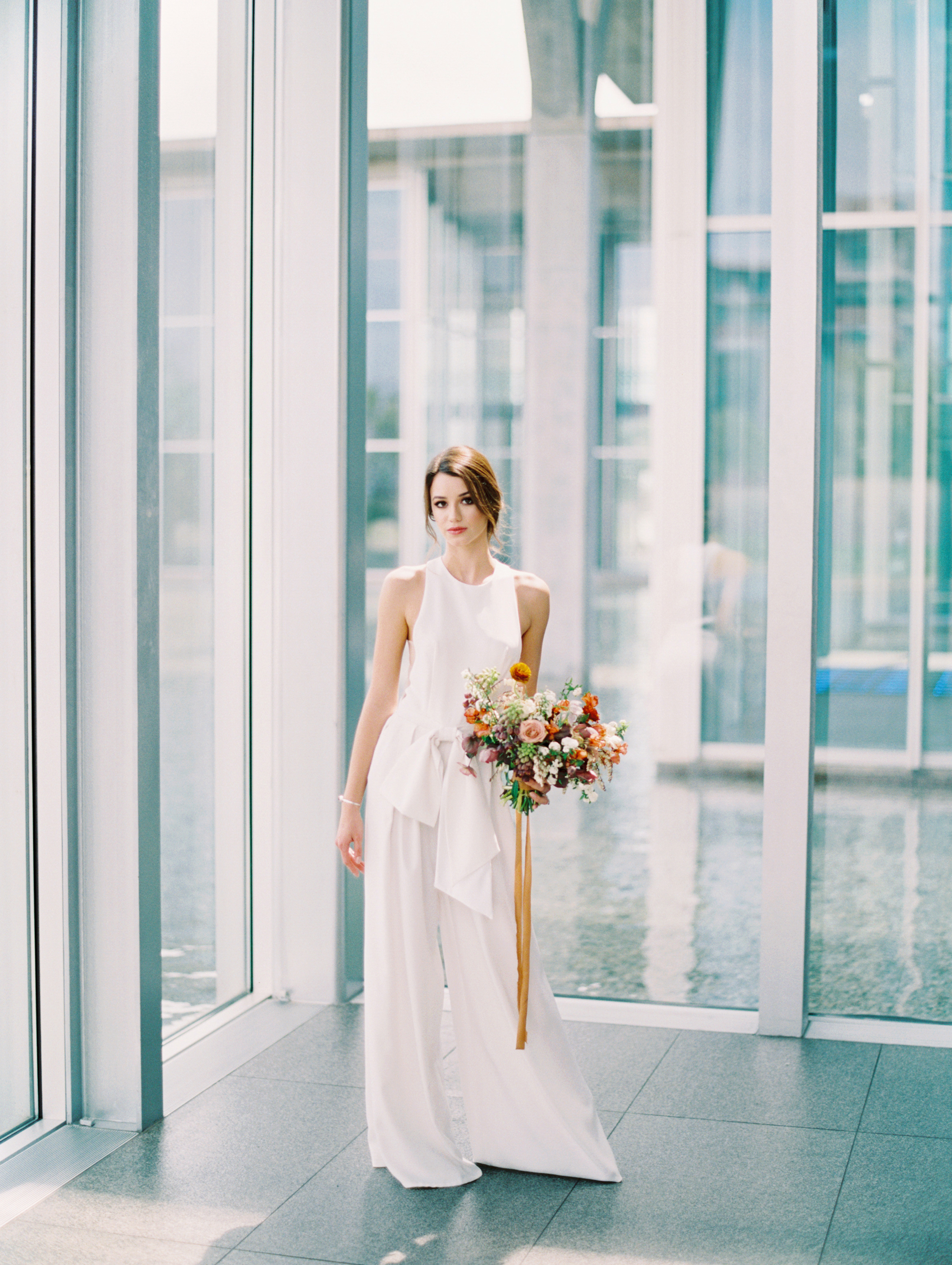Lyons-Events-White-Jumper-Jumpsuit-Elizabeth-Leese-Bridal-Wedding