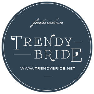 Trendy Bride Magazine Badge