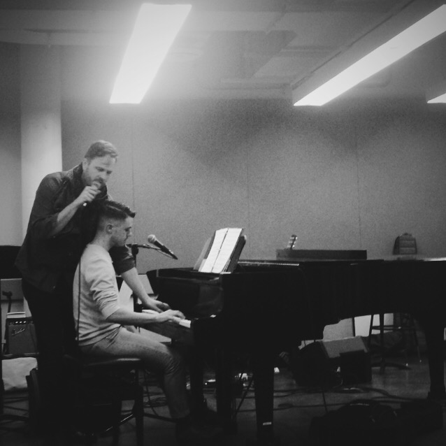 NYC  Feb. 2016   Playing duets with Todd Almond.
