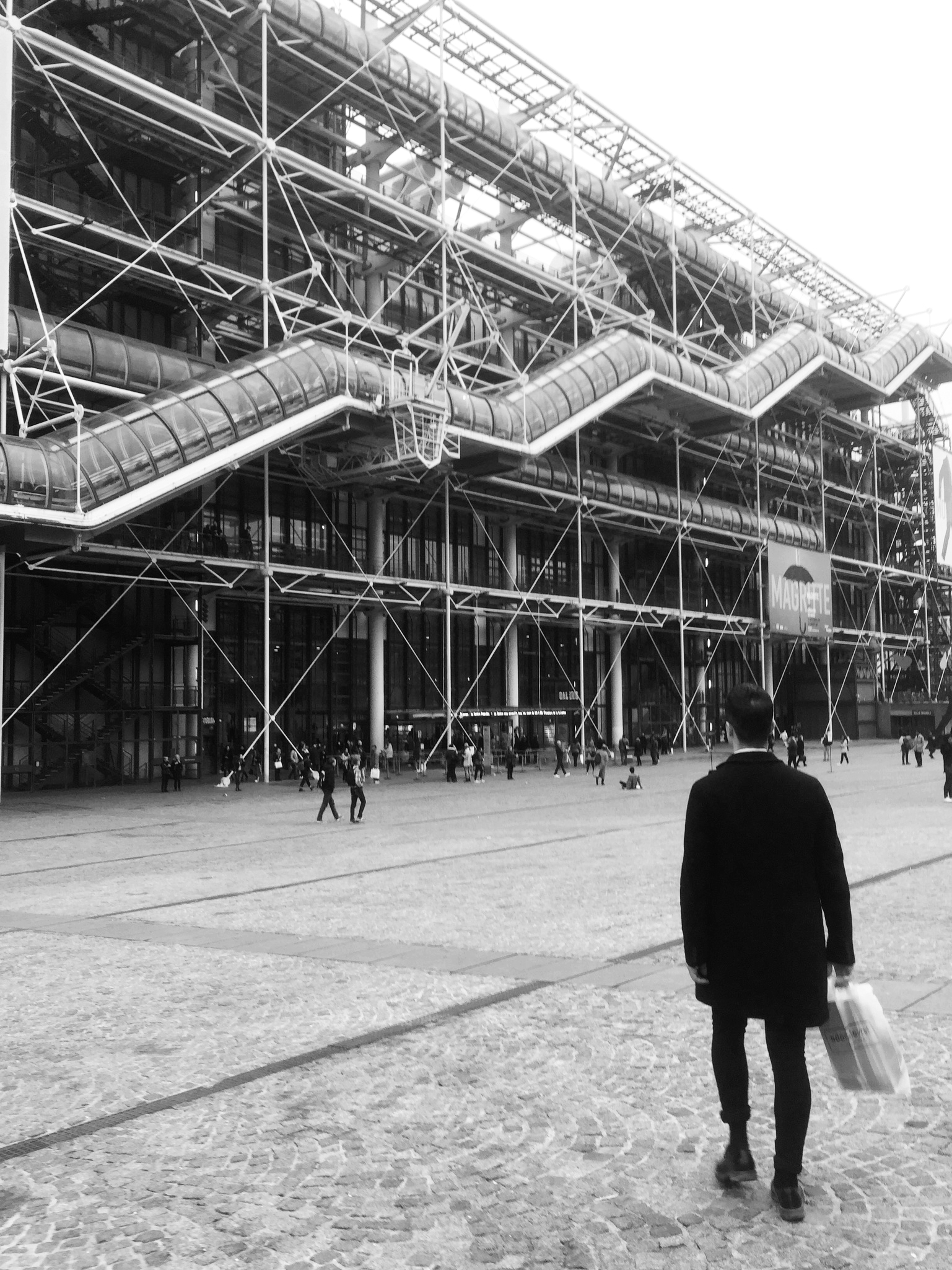 Oct. 2016   Flew to Paris to accompany Joseph Keckler at The Pompidou.