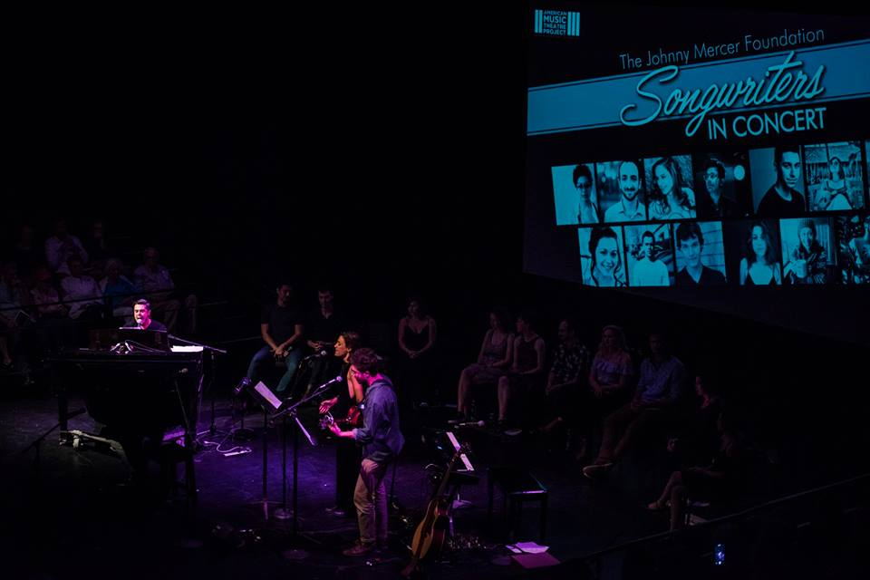 Chicago -June 2017    Performing as a student at the Johnny Mercer Songwriters Project.