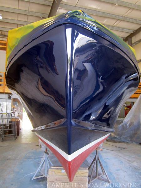 Hull Just Alwgripped on Tripp Angler Restoration
