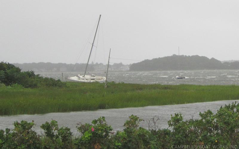 Hurricane Boat Hauling, Storage, Repair  Cape Cod, MA