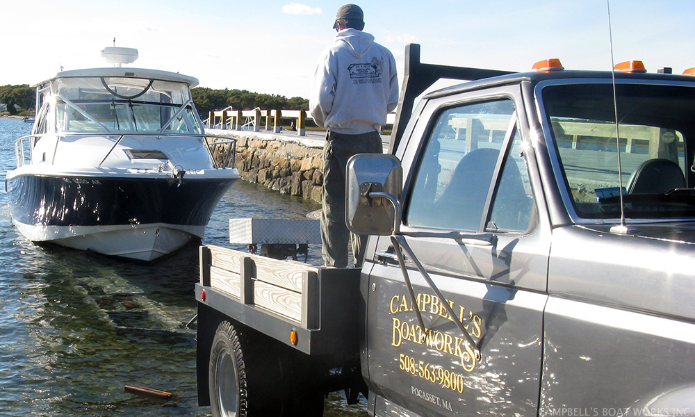 Boat Hauling, Launching, and Transport   Falmouth, Bourne, Cape Cod, Massachusetts