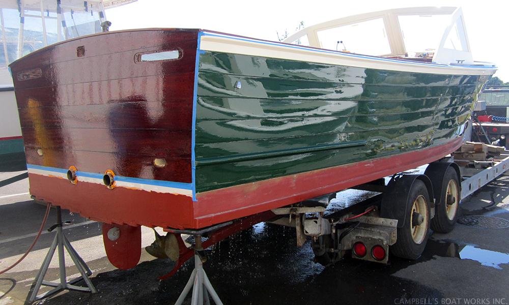 Fiberglass & Wooden Boat Refinishing, Restoration, & Customizations