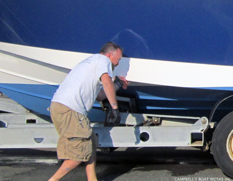 Boat Buffing, Waxing, and Detailing, Bourne MA