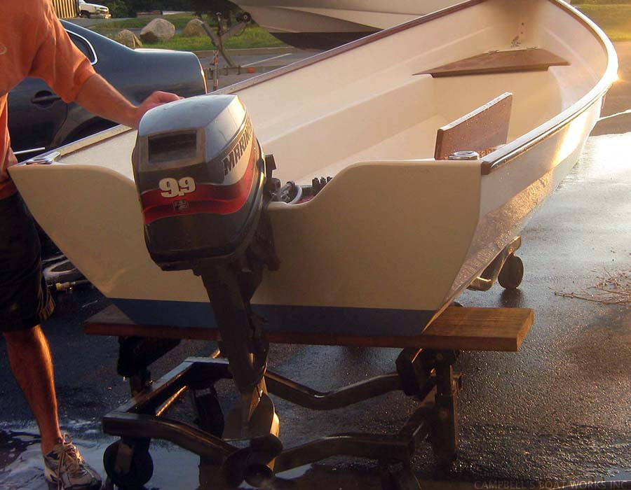 Outboard Spring Commissioning and Tune Up, Bourne, Cape Cod